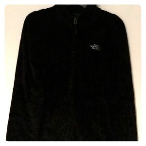 North Face Zip Up Fuzzy Jacket